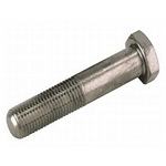 Tru-Lite Titanium Bolt, 1/2-20 Fine Thread, 2 In Long, 3/4 In Hex Head
