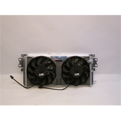 Garage Sale - AFCO 80280PRO Shelby GT500 Heat Exchanger w/ Fans