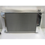 Garage Sale - AFCO Direct Fit 1994-95 Polished Mustang Radiator, With Trans Cooler