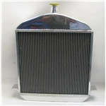 Garage Sale - 1917-23 T-Bucket Aluminum Radiator - Polished