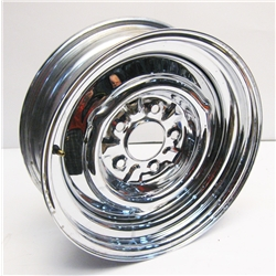 Garage Sale - O/E Style Hot Rod Steel Wheel - Chrome