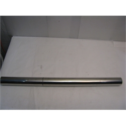 Garage Sale - 2.5 Inch Polished Stainless Steel Exhaust Tubing, 3 Foot Length