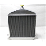 Garage Sale - 1917-23 T-Bucket Aluminum Radiator, Buffed Finish
