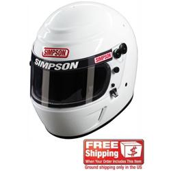 Simpson Voyager Evolution SA2010 Racing Helmet