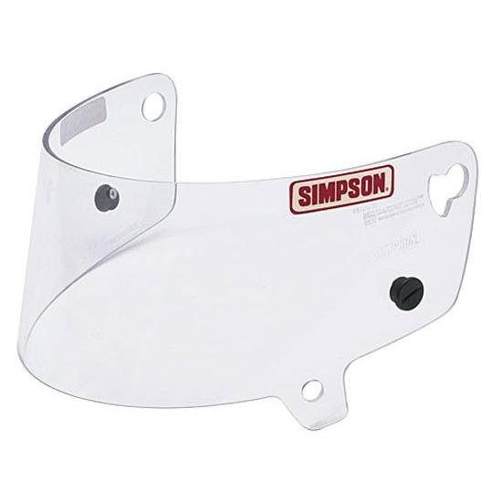 Simpson 88400A Clear Shield-Side Pro/Air Inforcer Shark & Vudo Helmet