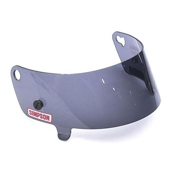 Simpson 88601A Smoke Shield for Speedway Shark amp Invader  : 63088601L Simpson Helmets <strong>Logo</strong> from www.speedwaymotors.com size 550 x 550 jpeg 15kB
