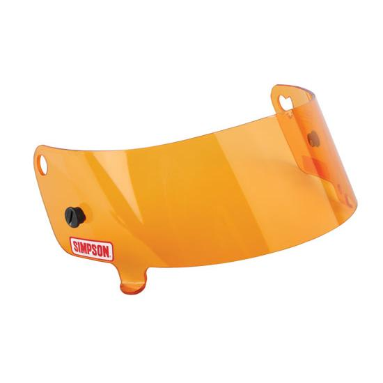 Simpson 88603A Amber Shield for Speedway Shark amp Invader  : 63088603L <strong>Custom</strong> Simpson Helmet from www.speedwaymotors.com size 550 x 550 jpeg 13kB