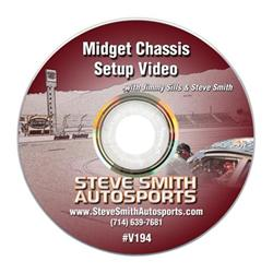 Steve Smith Autosports V194 DVD - Midget Chassis Set-Up