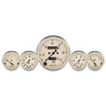 Auto Meter 1811 Antique Beige 5 Piece Gauge Kit