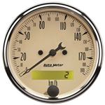 Auto Meter 1887-M Antique Beige Air-Core Speedometer Gauge