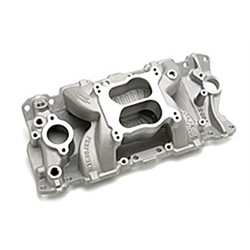 Edelbrock 26041 Performer Air-Gap Series Intake Manifold, Chevy