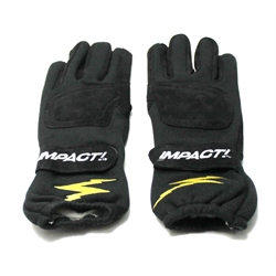 Garage Sale - Impact G-1 Open Wheel Driving Gloves Size Large, Fire Resistant