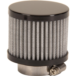 Black Valve Cover Breather Filter, 1-3/8 Inch