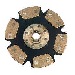Ram Clutches 1017 2.3 Ford 7-7/8 Inch Metallic Racing Clutch Disc