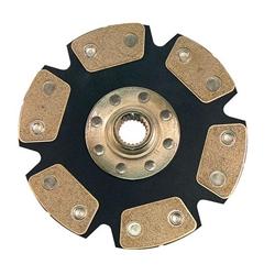 Ram Clutches 1017 2.3 Ford 7-7/8 Inch Metallic Racing Clutch Disc