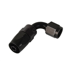 Aeroquip FBM4433 Black Hose End Coupler Fitting-90 Degree Angle, -8 AN