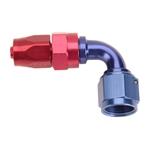 Fragola 229007 90 Degree Adapter Hose End Fitting, -6 AN to -8 AN