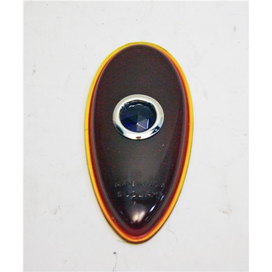 1938-1939 Ford Blue Dot Tail Light Lens