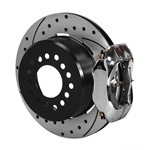Wilwood 140-7143-DP FDL Rear Brake Kit, Small Ford 2.66 Off
