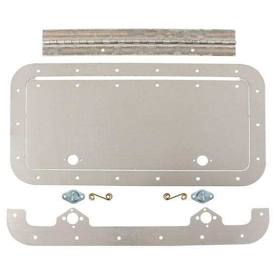 Universal aluminum access door 6 x 14 inch for 14 door