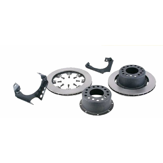 Basic Weld-On Rear Disc Brake Kit for 1969-77 GM Caliper, 3 In BS