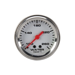 Speedway Mechanical Water Temperature Gauge, 2-1/16 Inch