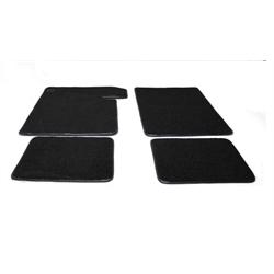 Garage Sale - 1964-67 Chevelle 2 Door Black Carpeted Floor Mats
