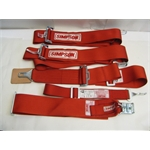 Garage Sale - Simpson Latch & Link Spring Car Belts, Red