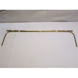 Garage Sale - 1915-22 Ford Model T Brass Glass Setting Channel For Open Cars