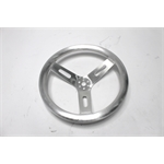 Garage Sale - 15 Inch Pro-Grip Aluminum Steering Wheel, Dish