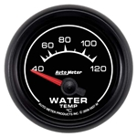 Auto Meter 5937-M ES Air-Core Water Temperature Gauge, 2-1/16 Inch