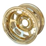 Aero 33-904510GOL 33 Series 13x10 Wheel Lite 4 on 4-1/2 BP 1 Inch BS