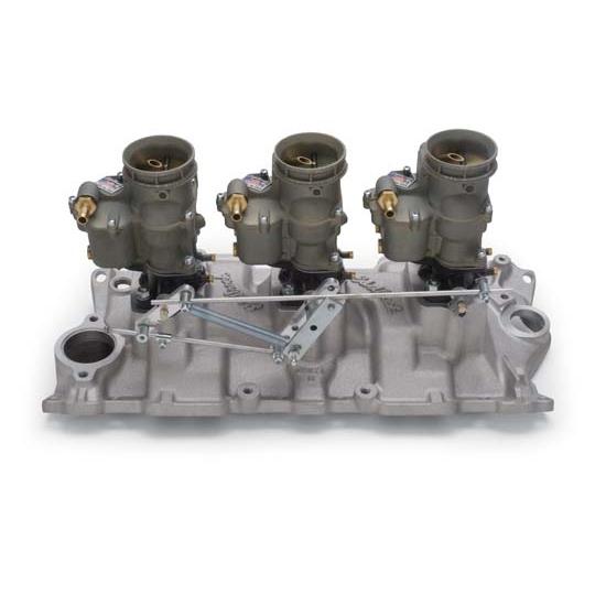 Edelbrock 2015 Vintage Intake Manifold/Carburetor Kit