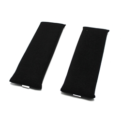 Garage Sale - Finishline Black Proban Harness/Seat Belt Pads, Pair