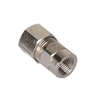 Cold Fire 40030253N Straight Fitting, 1/8 NPT Female, 3/8 Inch Tube