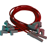 MSD 31649 Super Conductor Plug Wires, 4.3L Chevy Truck, 92-97