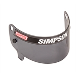 Simpson J88601 Replacement Helmet Shield for JR Speedway Shark, Dark Smoke