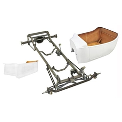Deluxe 1923 T-Bucket Frame Kit w/ Standard Body and Bed, Channeled Floor