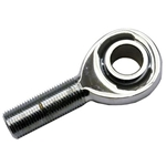 Chrome Plated Chromoly Heim Joint Rod Ends, 5/8-18 LH Male