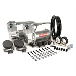 Viair 38003 Dual Air Compressor Kit, 380C, Pewter