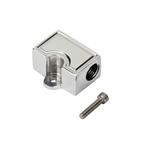 Two-Port Aluminum Fuel Block, 1/4 NPT In/Out