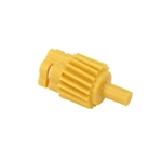 Speedometer Drive Gear, C0DD-17271-B, 18 Tooth, Yellow