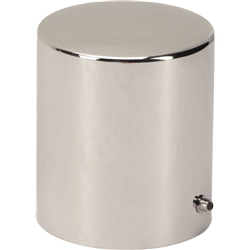 Chrome Oil Filter Cover, 4-5/16 Deep