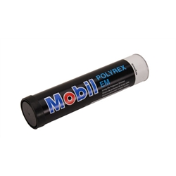 Mobil Polyrex Electric Motor Grease for Swindell Bearings, 14 oz, Blue