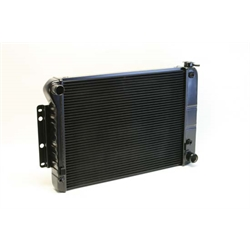 Dewitts 1239004A 1967-69 Camaro SB Direct Fit Radiator, Black, Auto
