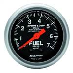 Auto Meter 3312-J Sport-Comp Mechanical Fuel Pressure Gauge