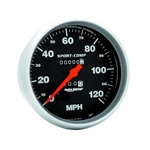 Auto Meter 3994 Sport-Comp Mechanical Speedometer, 120 MPH, 5 Inch