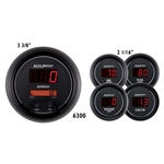 Auto Meter 6300 Sport-Comp Digital 5 Piece Gauge Kit