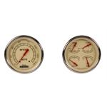 Classic Instruments VT52SLF Vintage Series 5 Inch Gauge Set