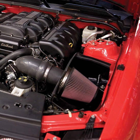 Supercharged Mustang Tires: Edelbrock 1589 E-Force Street Legal Kit Supercharger